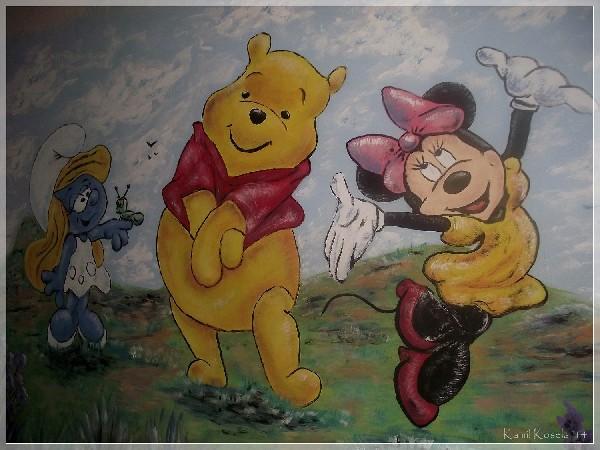 Artystyczne Malowanie Scian Wroclaw I Okolice Olesnica Trzebnica