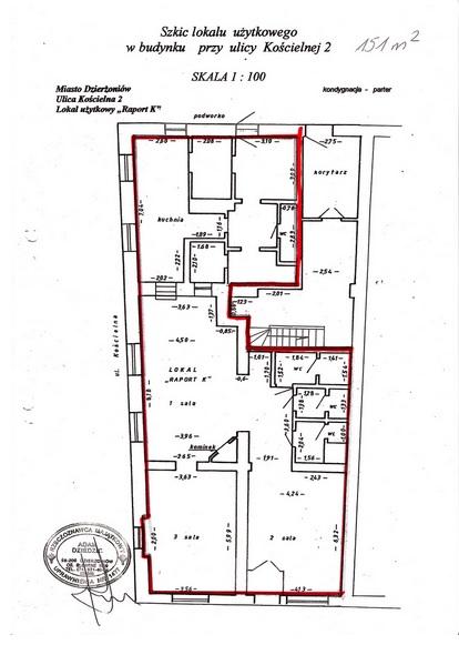 Lokal Użytkowy, 151 M2, Dzierżoniów 3