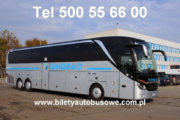 Sindbad - Bilety Autokarowe - Rezerwacja 500556600
